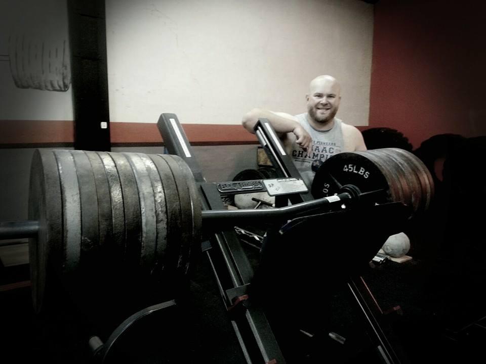 Nate Tuttle:  Strongman Expert