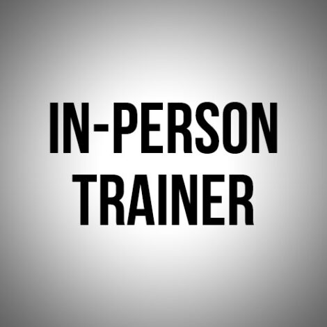 in-person trainer
